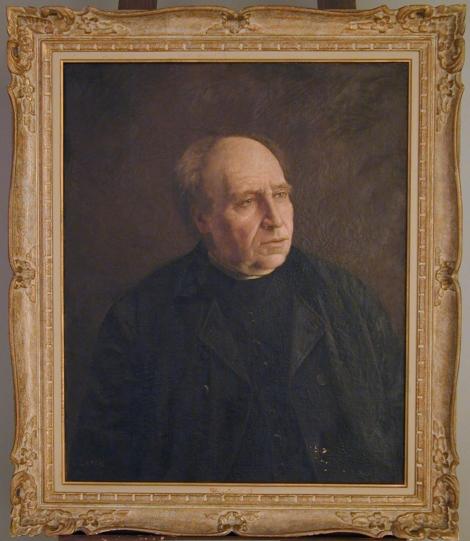 Ludger Larose (1868-1915), Portrait de Léon-Alfred Sentenne. Photo: Pascale Bergeron